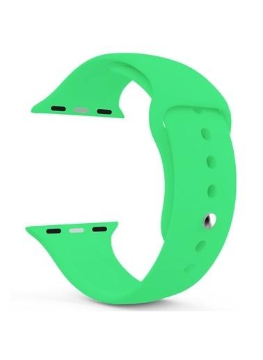 Microsonic Watch Series 4 44mm Silikon Kordon Yeşil